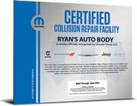 Mopar Certification